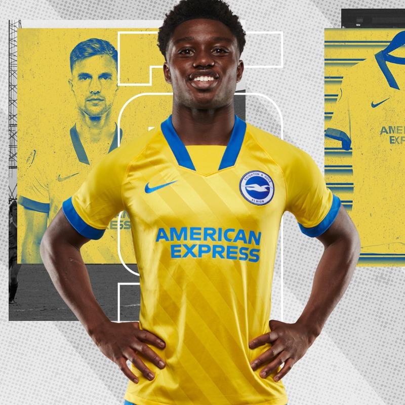 Camisas do Brighton & Hove Albion 2020-2021 Nike Reserva