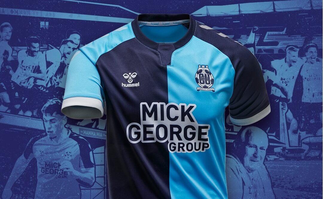 Camisas do Cambridge United 2020-2021 Hummel