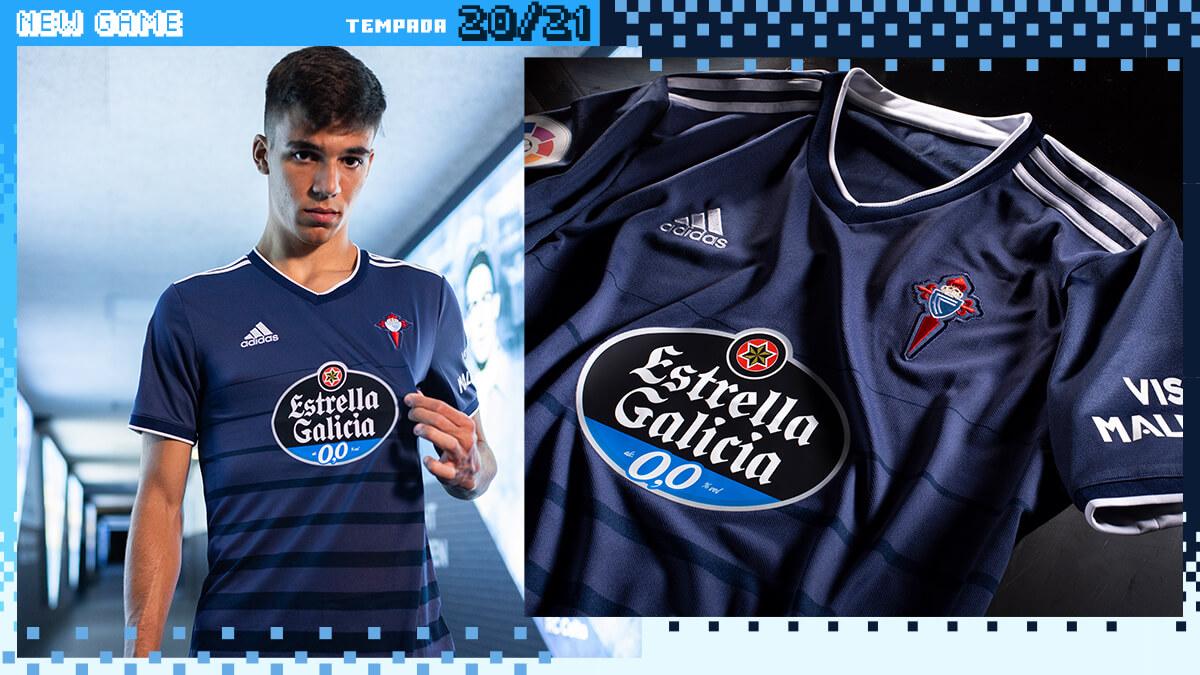 Camisas do Celta de Vigo 2020-2021 Adidas