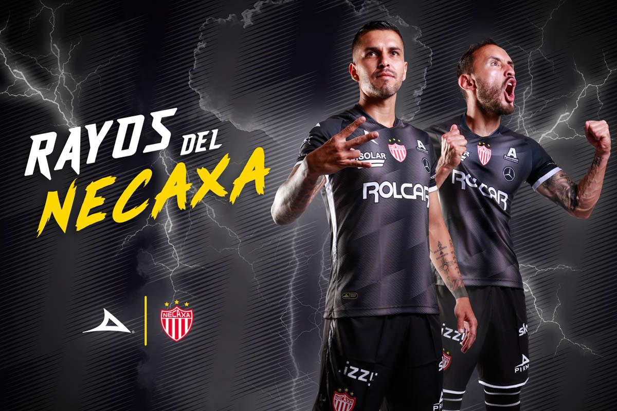 Camisas do Club Necaxa 2020-2021 Pirma Reserva
