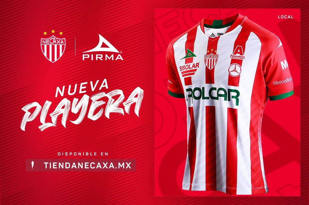 Camisas do Club Necaxa 2020-2021 Pirma