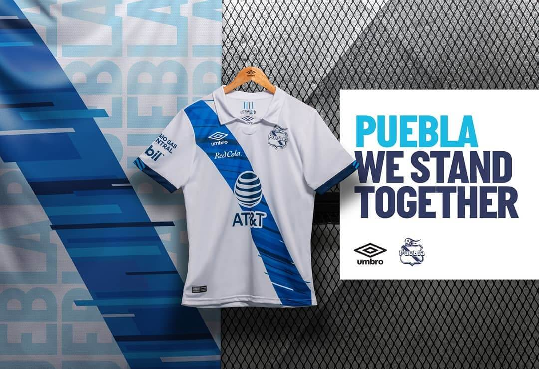 Camisas do Club Puebla 2020-2021 Umbro