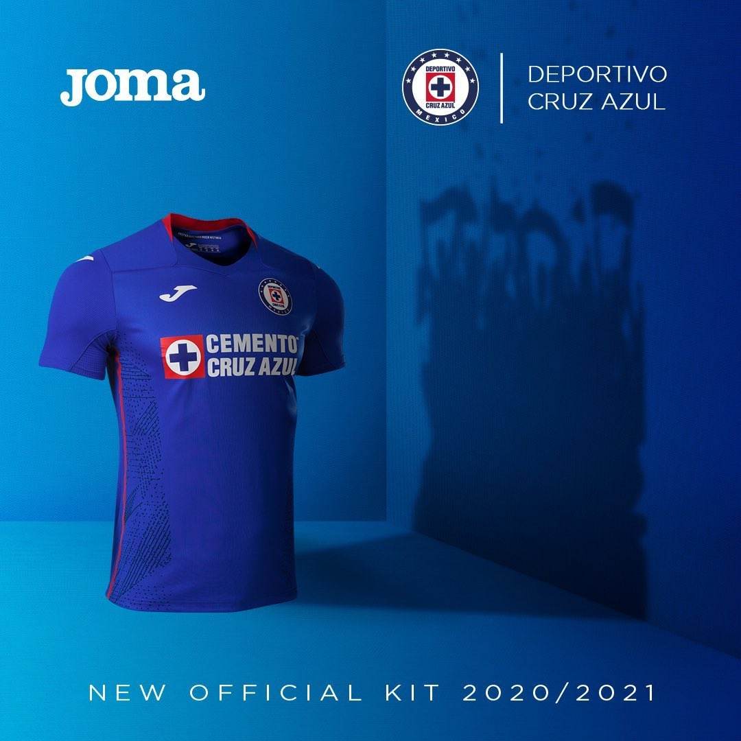 Camisas do Cruz Azul 2020-2021 JOMA