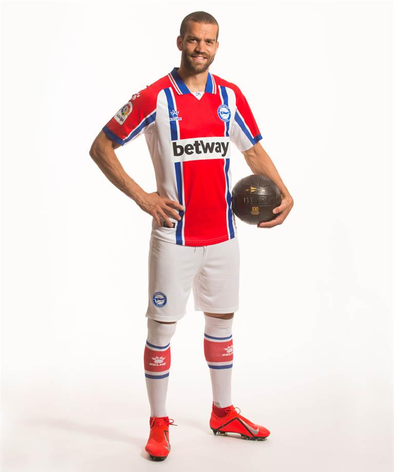 Camisas do Deportivo Alavés 2020-2021 Kelme Reserva
