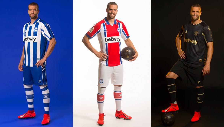 Camisas do Deportivo Alavés 2020-2021 Kelme a