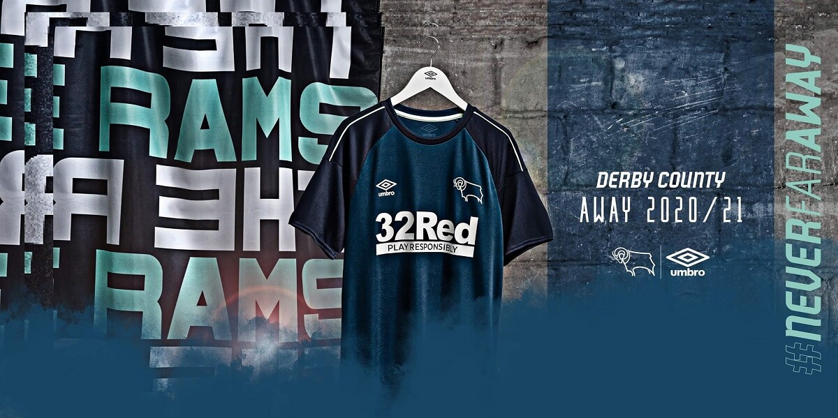 Camisas do Derby County 2020-2021 Umbro