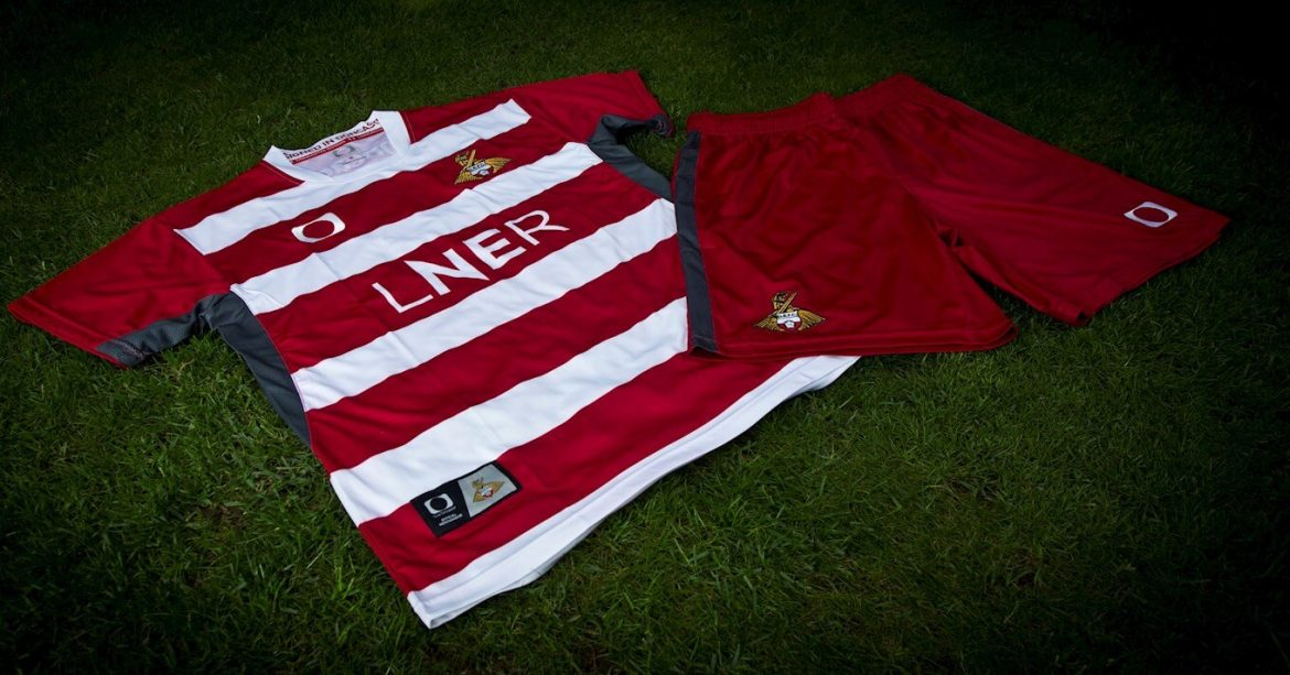 Camisas do Doncaster Rovers 2020-2021 Elite Pro Sports