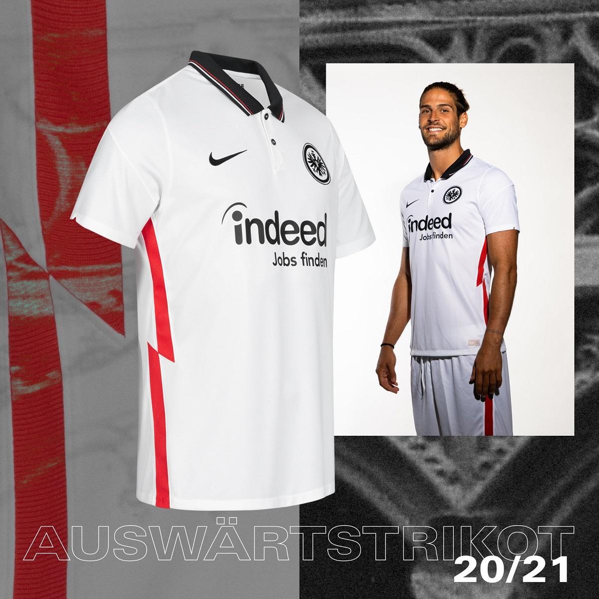 Camisas do Eintracht Frankfurt 2020-2021 Nike