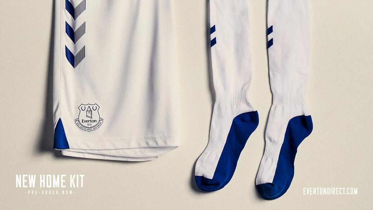 Camisas do Everton 2020-2021 Hummel