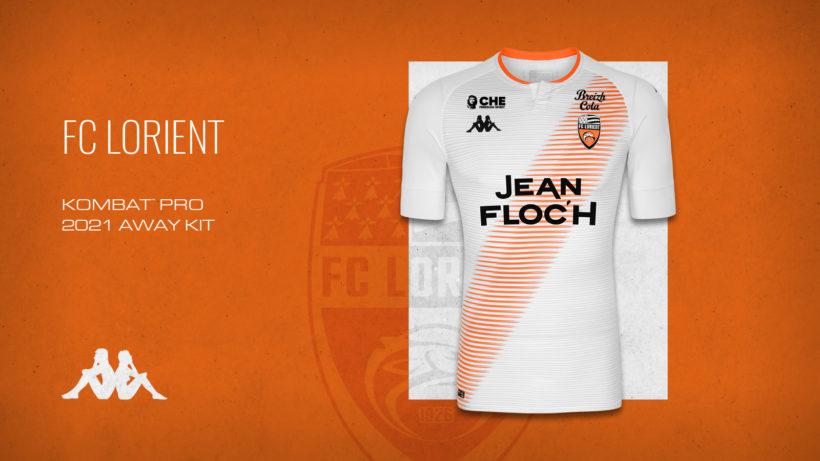 Camisas do FC Lorient 2020-2021 Kappa