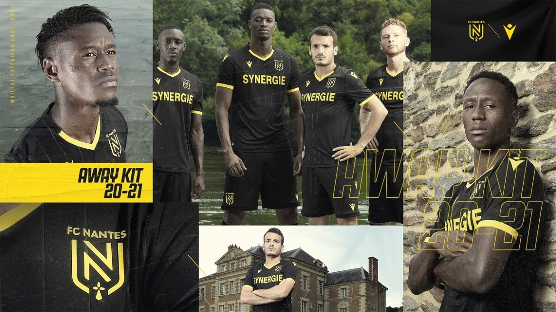 Camisas do FC Nantes 2020-2021 Macron