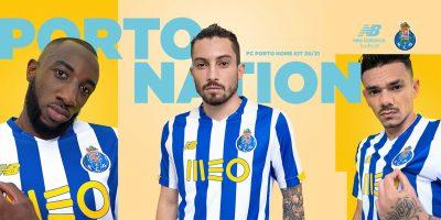 Camisas do FC Porto 2020-2021 New Balance a