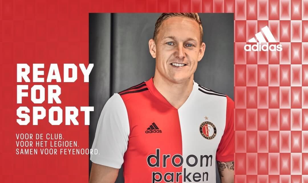 Camisas do Feyenoord 2020-2021 Adidas