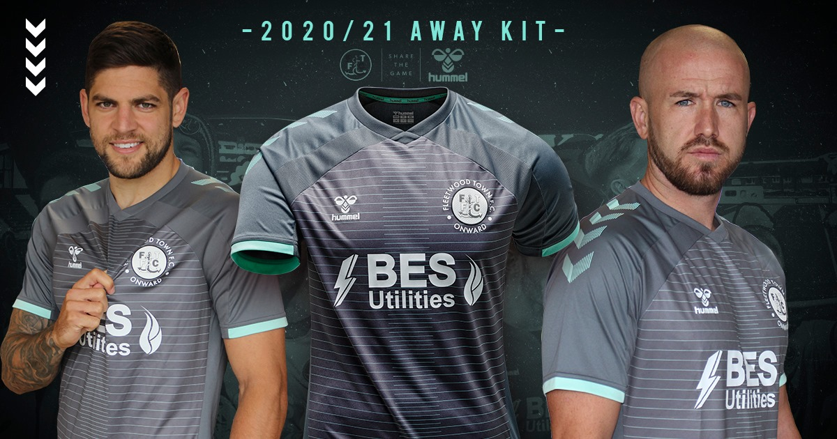 Camisas do Fleetwood Town 2020-2021 Hummel