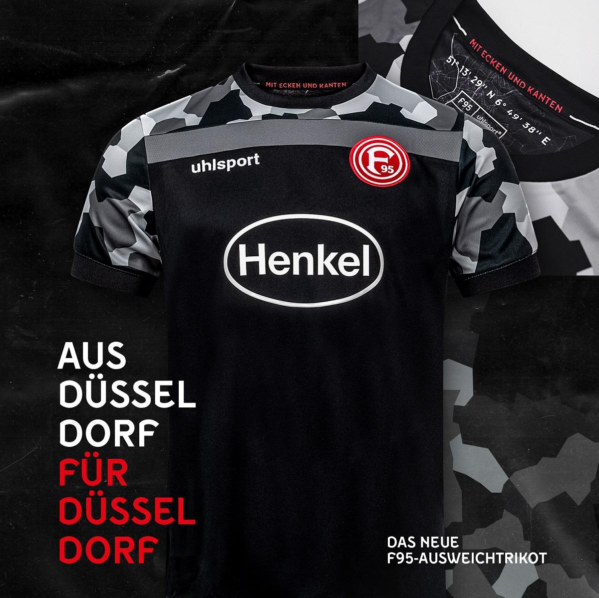 Camisas do Fortuna Düsseldorf 2020-2021 Uhlsport