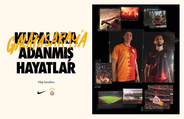 Camisas do Galatasaray 2020-2021 Nike