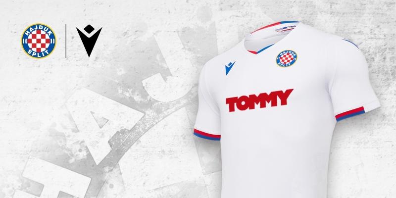 Camisas do Hajduk Split 2020-2021 Macron