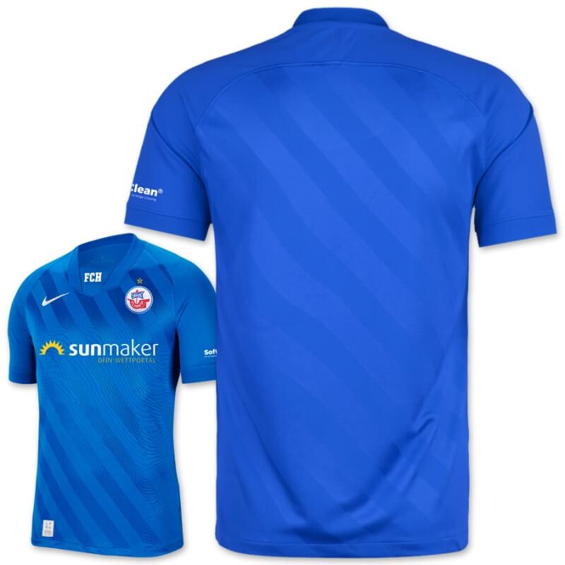 Camisas do Hansa Rostock 2020-2021 Nike