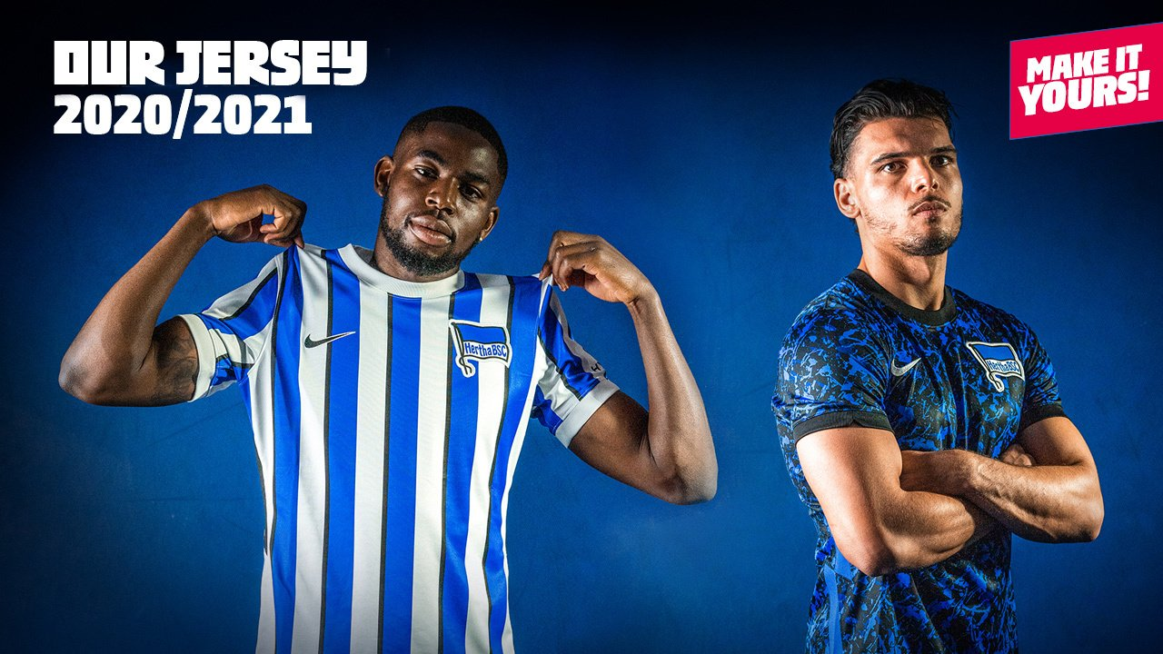 Camisas do Hertha Berlin 2020-2021 Nike 2