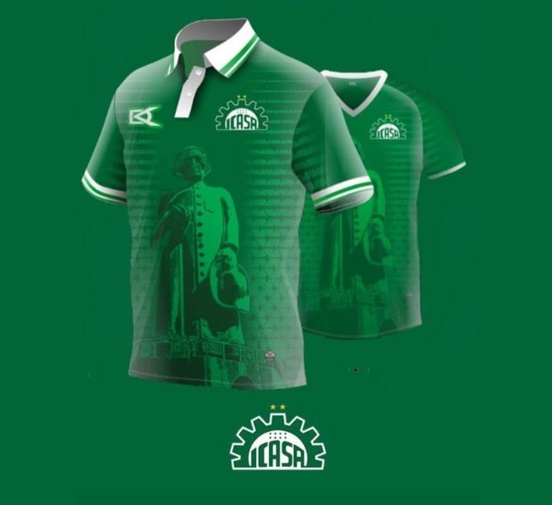Camisas do ICASA 2020-2021 DEKA