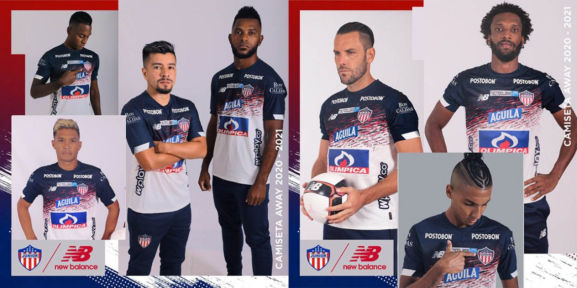 Camisas do Junior Barranquila 2020-2021 New Balance Reserva