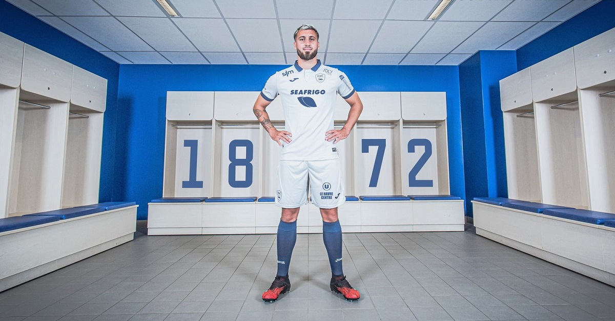 Camisas do Le Havre 2020-2021 JOMA