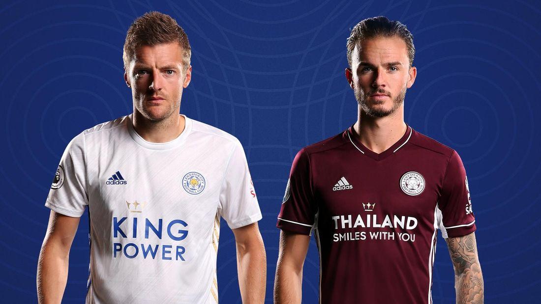 Camisas do Leicester City 2020-2021 Adidas