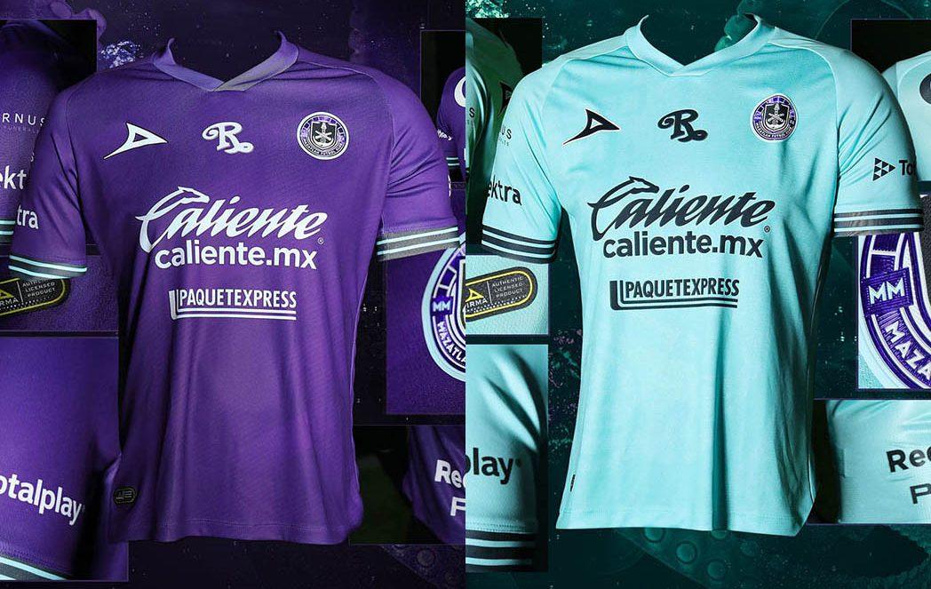 Camisas do Mazatlán FC 2020-2021 Pirma a