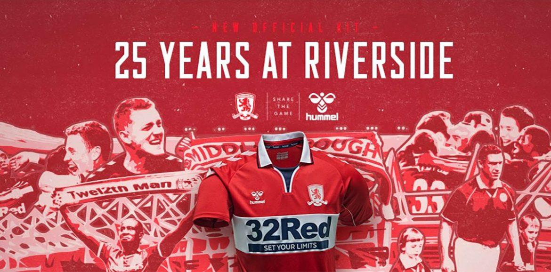 Camisas do Middlesbrough 2020-2021 Hummel a