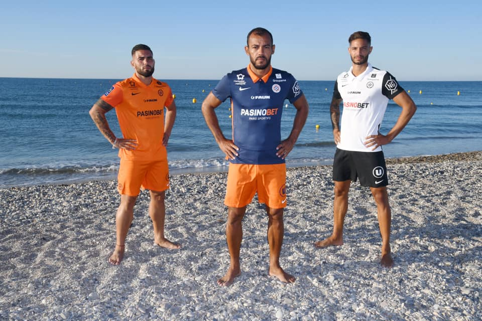 Camisas do Montpellier Hérault 2020-2021 Nike