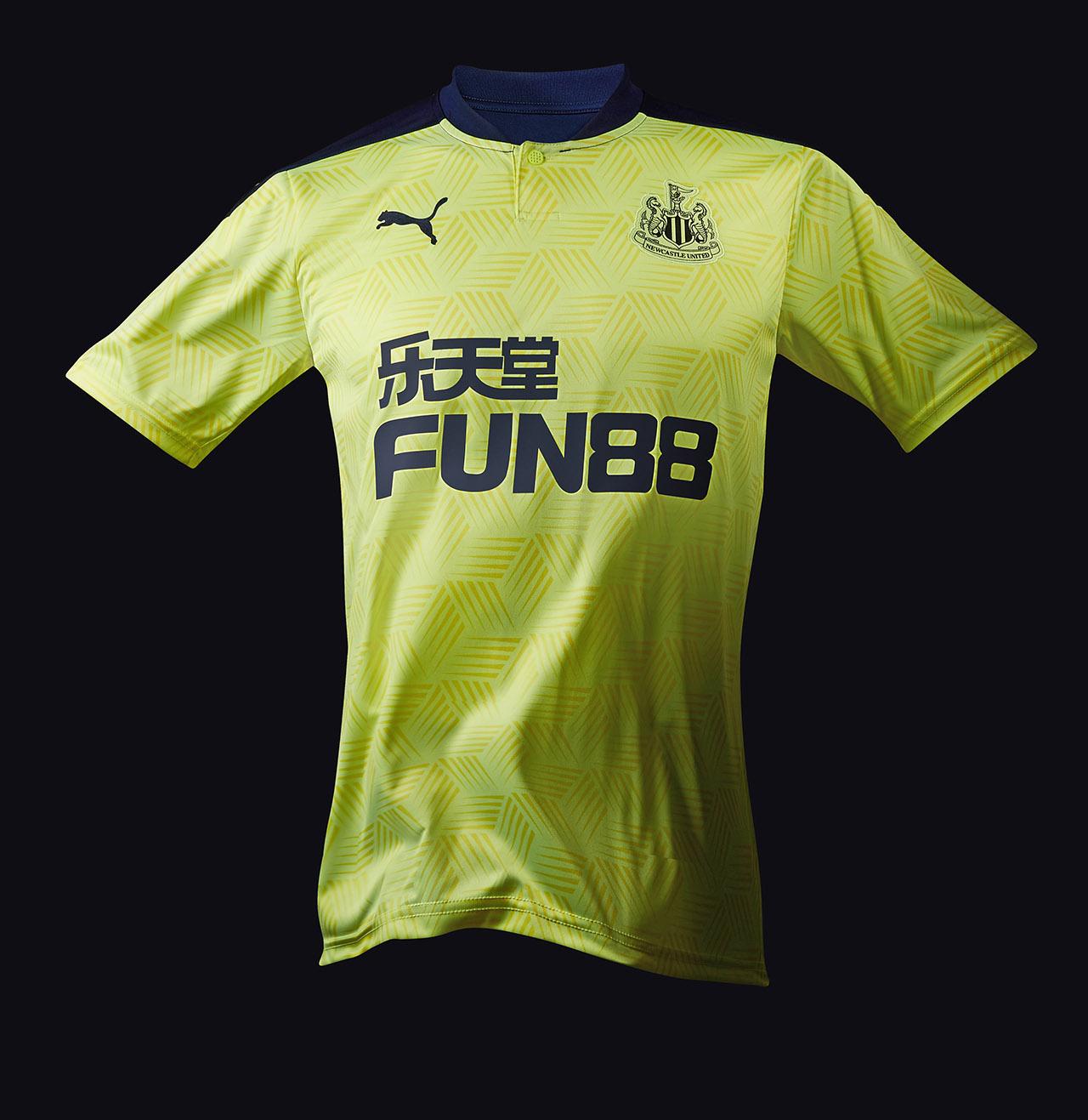 Camisas do Newcastle 2020-2021 PUMA