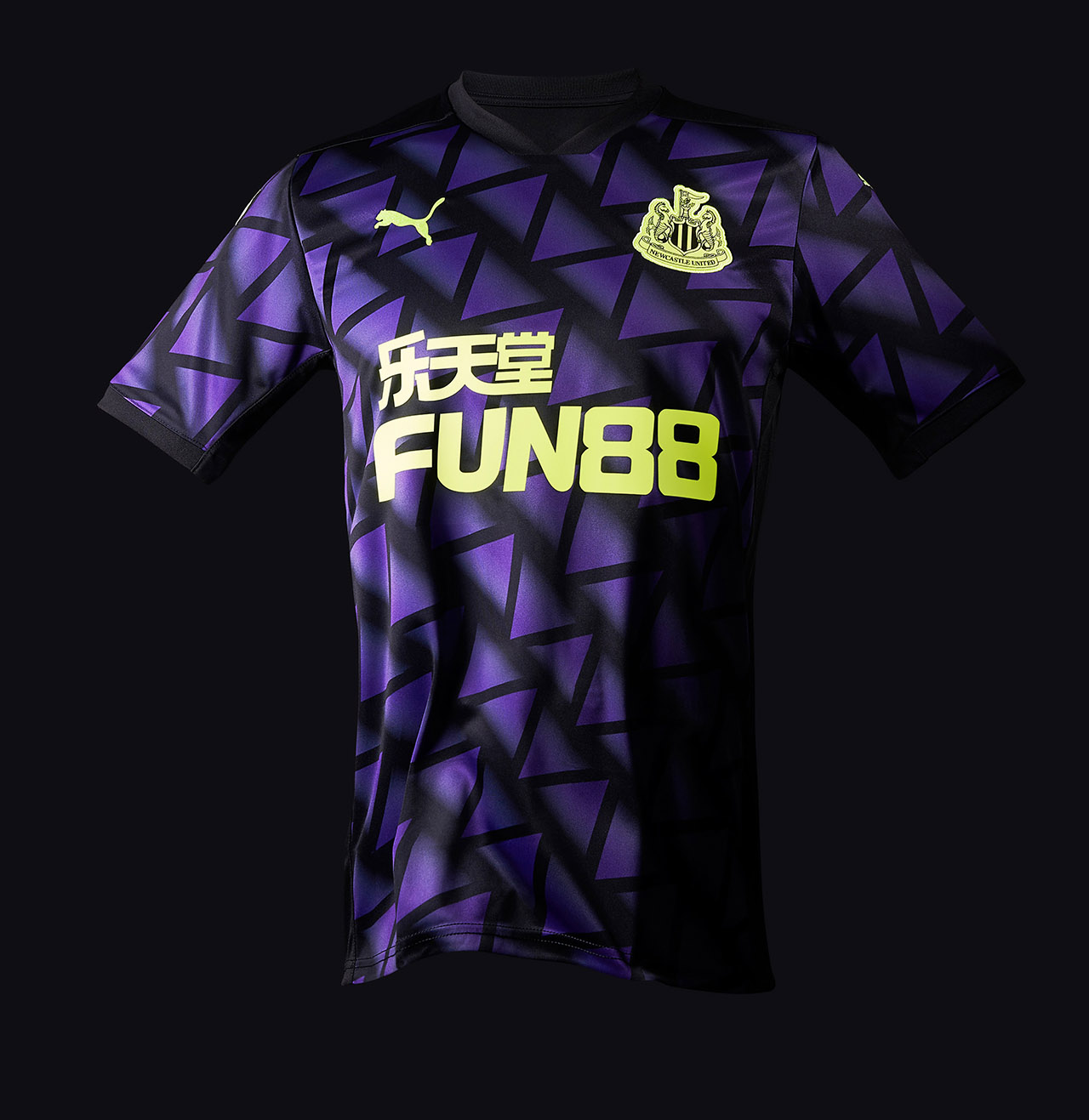 Camisas do Newcastle 2020-2021 PUMA Third