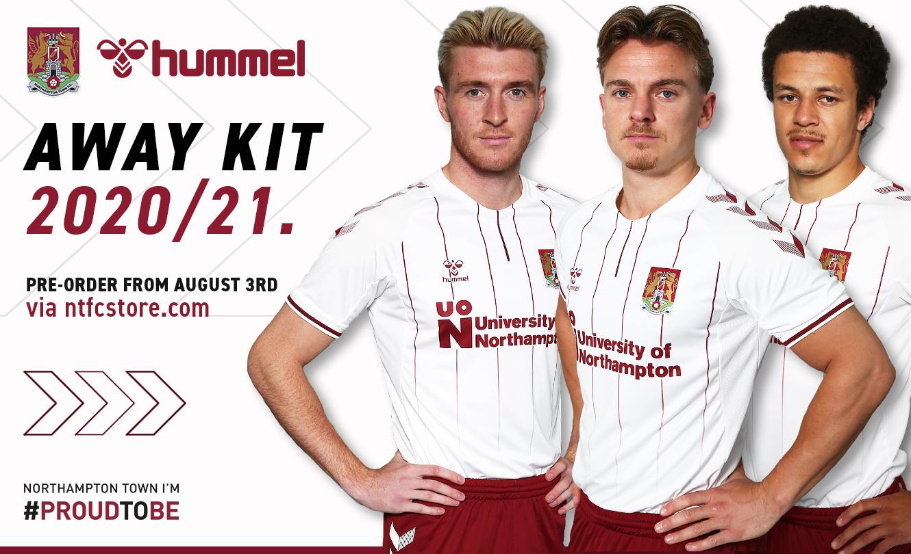 Camisas do Northampton Town 2020-2021 Hummel