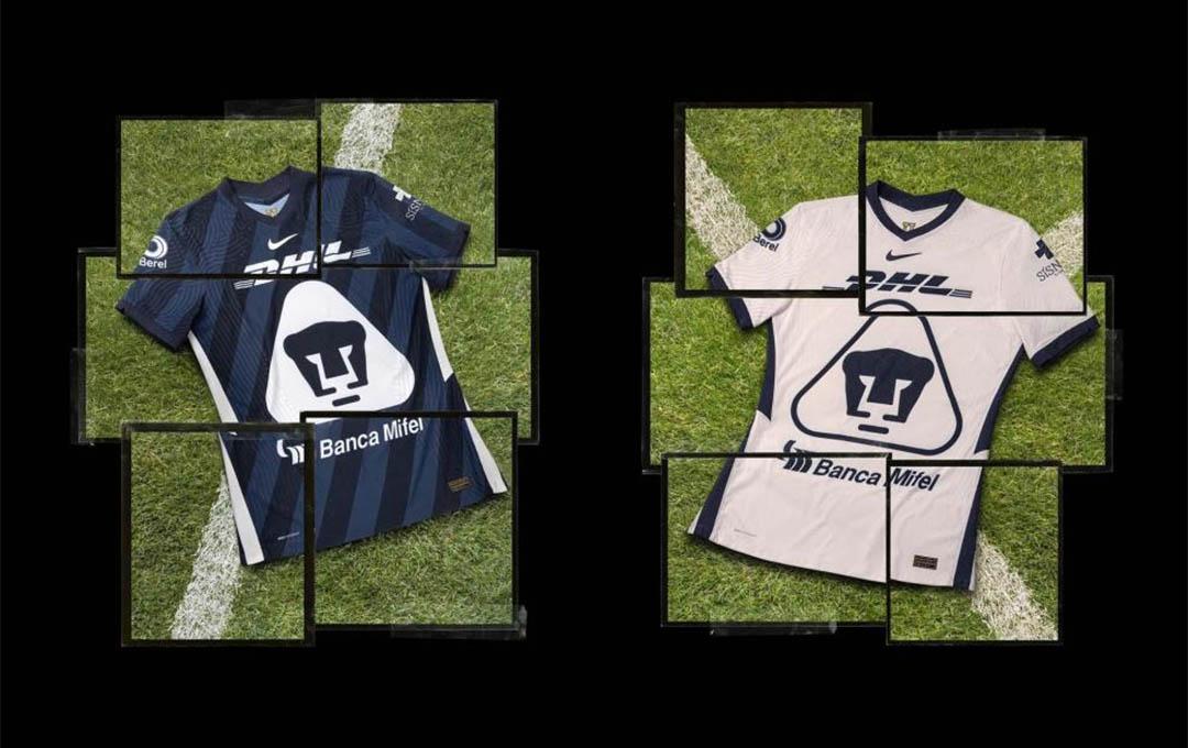 Camisas do Pumas UNAM 2020-2021 Nike a