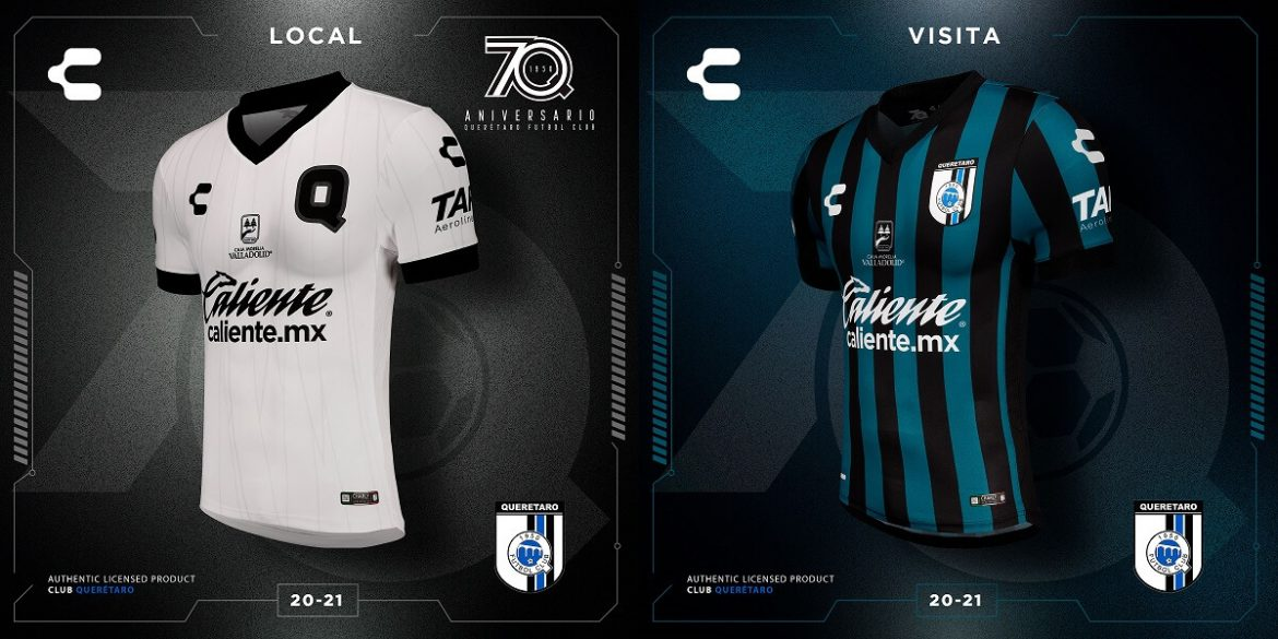 Camisas do Querétaro 2020-2021 Charly