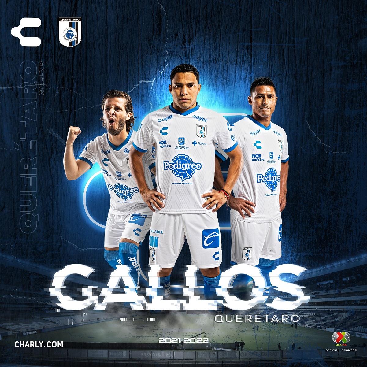 Camisas do Querétaro 2021-2022 Charly