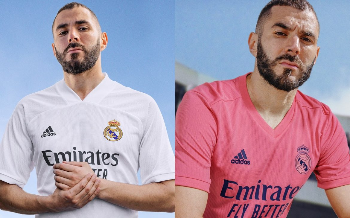 Camisas do Real Madrid 2020-2021 Adidas