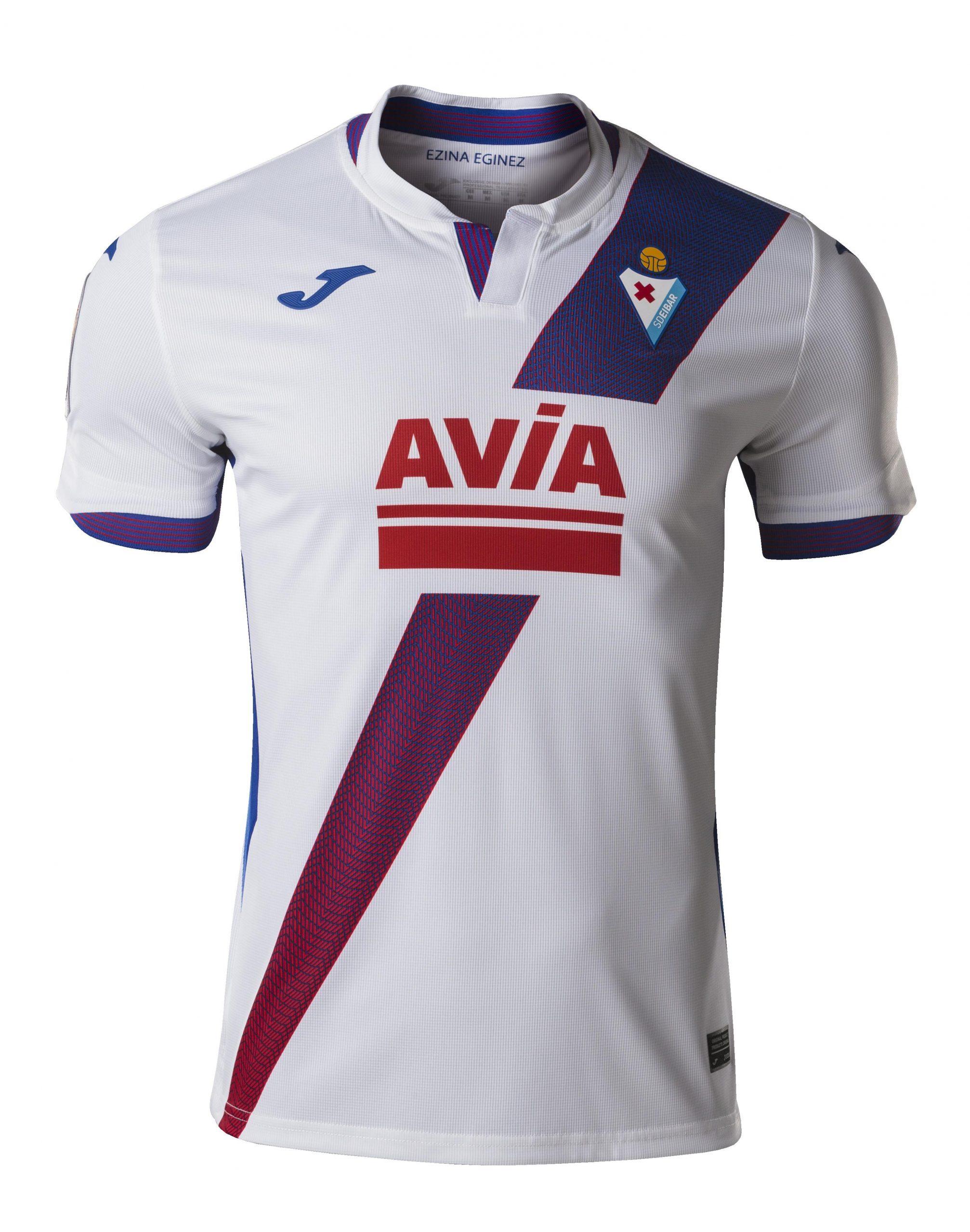 Camisas do SD Eibar 2020-2021 JOMA Reserva