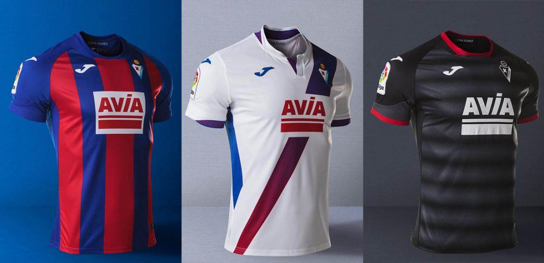 Camisas do SD Eibar 2020-2021 JOMA Third a