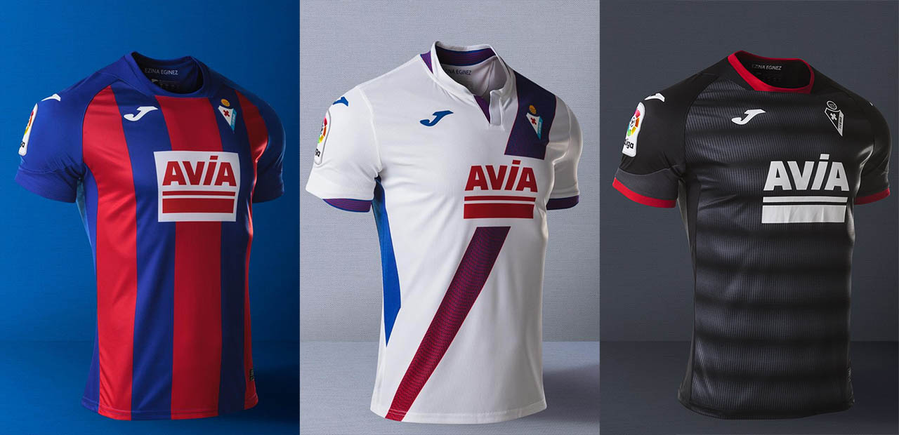 Camisas do SD Eibar 2020-2021 JOMA Third a