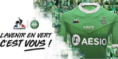 Camisas do Saint-Étienne 2020-2021 Le Coq Sportif