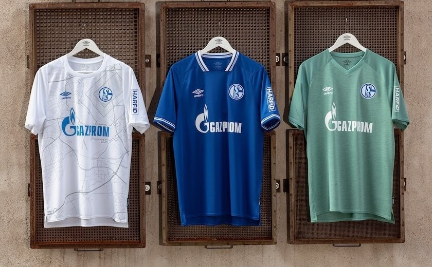 Camisas do Schalke 04 2020-2021 Umbro