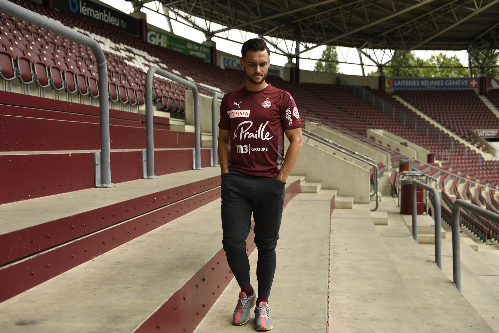 Camisas do Servette FC 2020-2021 PUMA