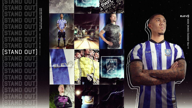 Camisas do Sheffield Wednesday 2020-2021 Elev8