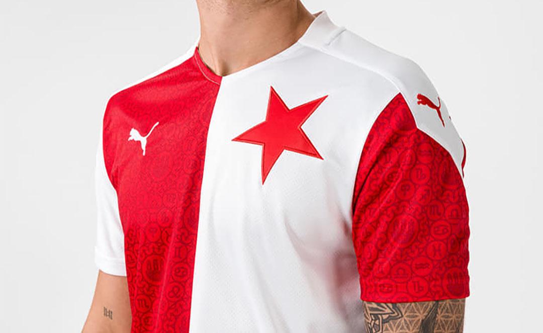 Camisas do Slavia Praga 2020-2021 PUMA