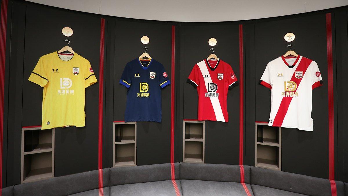 Camisas do Southampton 2020-2021 Under Armour