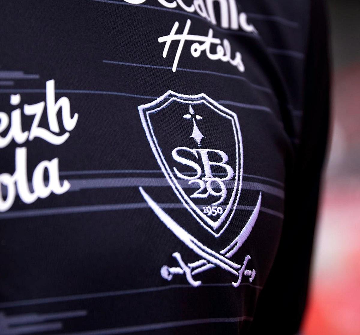 Camisas do Stade Brestois 2021-2022 Adidas