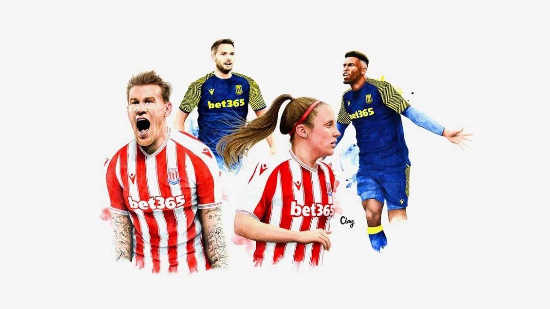 Camisas do Stoke City 2020-2021 Macron