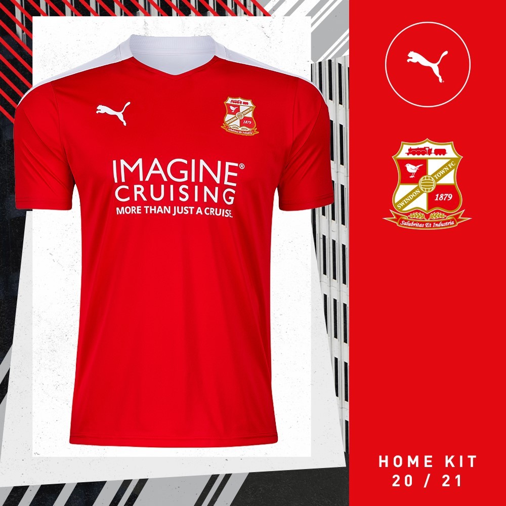 Camisas do Swindon Town 2020-2021 PUMA