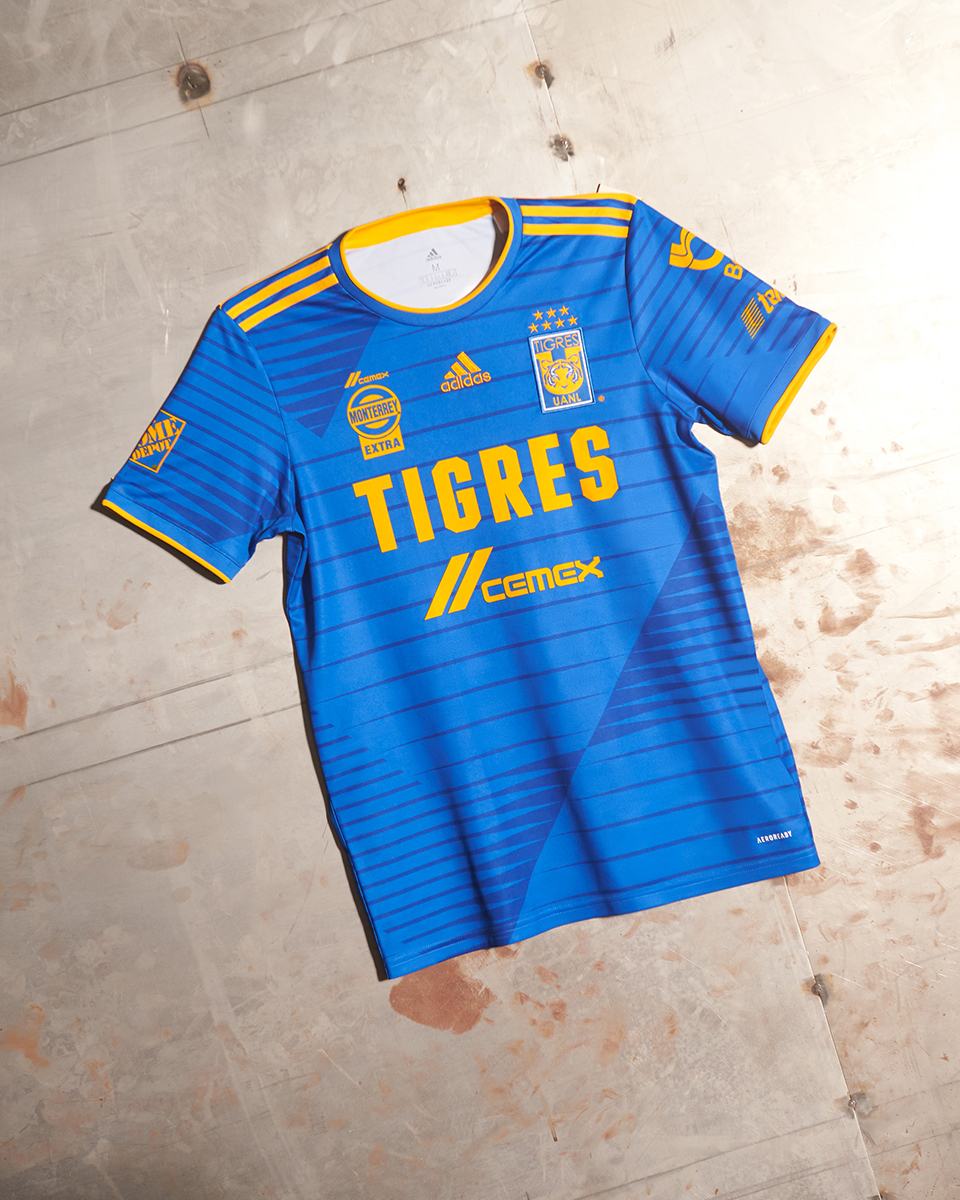 Camisas do Tigres UANL 2020-2021 Adidas Away